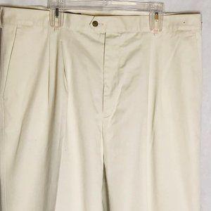 Nordstrom SmartCare dress pants tan hook and bar c